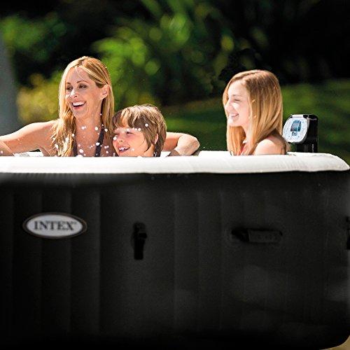 Intex 28454 Pure SPA 79 Zoll Octagon - Bubble, Jet und Salzwassersystem