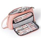 AidShunN Multifuncional Estuche de lápices de Gran Capacidad Bolsa de Lona Premium Bolsa de lápiz Organizador de...
