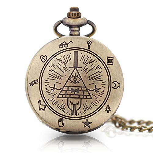 Bronze Kids Pocket Watch with Chains