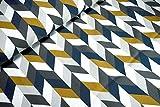 mollipolli-Stoffe Jersey Chevy senf dunkelblau grau weiß
