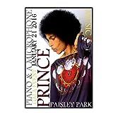 DrCor Prinz Sänger Rock Legende Paisley Park Rekord Poster