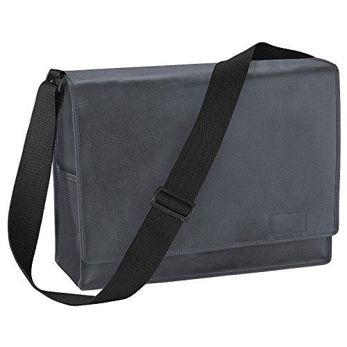 BagBase Budget Promo Messenger-Tasche/Schultertasche, 15 Liter (Einheitsgröße) (Anthrazit)