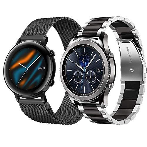 22mm Correa para Galaxy Watch 3 45mm/Galaxy Watch 46mm/Huawe