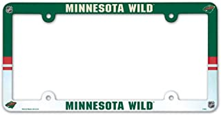 NHL Minnesota Wild LIC Plate Frame Full Color