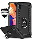 LeYi for Samsung Galaxy A10 Case with Magnetic Ring Holder,