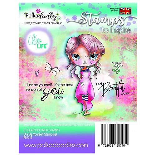 """Nuevo paquete de papel polkadoodles 6/"""" X 6/"""" Winnie mermazing Ocean"""