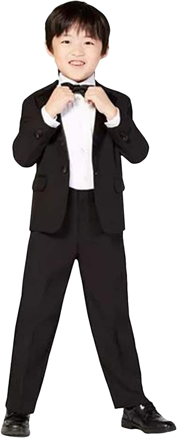 P&G Boys' Suit Two Buttons Two Pieces Wedding The Groom Tuxedos to Wear Formal Cloth