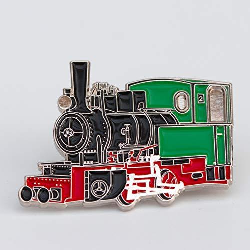 Zunftbedarfde Pin/Anstecker Feldbahnlok Eisenbahn Stück (10)