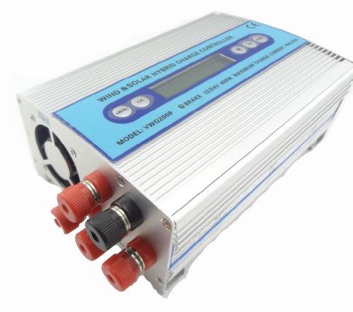 MISOL Hybrid Solar Wind Charge Controller 500W+100W / wind charge controller / wind regulator / solar regulator/wind turbine/Hybrid Solar Wind Laderegler / Windladeregler / Windregler / Solarregler / Windrad