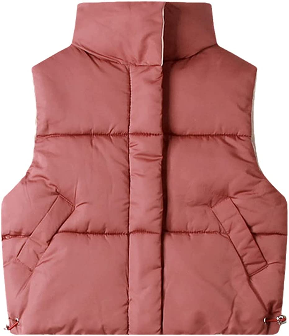 FLZS Children Vests 3-10 Years Warm Waistcoats for Boys & Girls Thick Vests Jacket