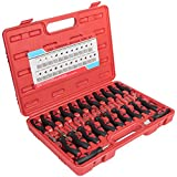 Sunluway Universal Terminal Release Tool Set, Wire Terminal Electrical Connector Removal Kit Crimp Pin Remover for American Domestic and Imported Vehicles(23 PCS )