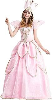 Fairy Godmother Costume for Women Halloween Glinda Adult Costume Good Witch Costume Glinda Dress