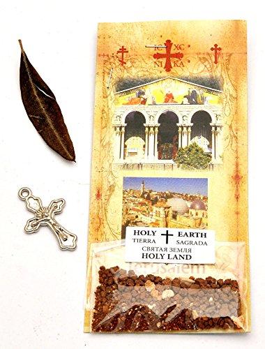 Jerusalem Heilige Erde Tierra Kreuz, Olivenbaum Lebend Sand