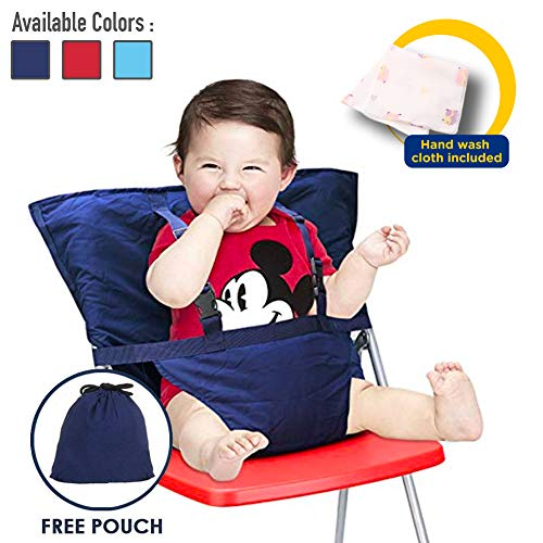 Best Price Baby High Chair Harness, Travel High Chair for Baby Toddler Feeding Eating, Portable Easy...