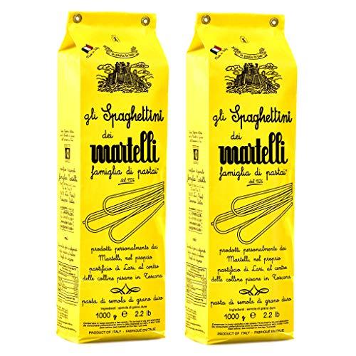 Martelli-Nudeln Spaghettini - 4 Packungen à 500 gr - Insgesamt: 2000 gr