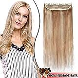 Extension a Clip Cheveux Naturel Monobande Maxi Volume - Rajout Cheveux Humain Lisse...