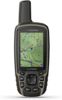$291 » Garmin GPSMAP 64sx, Handheld GPS with Altimeter and Compass, Preloaded With TopoActive Maps, Black/Tan