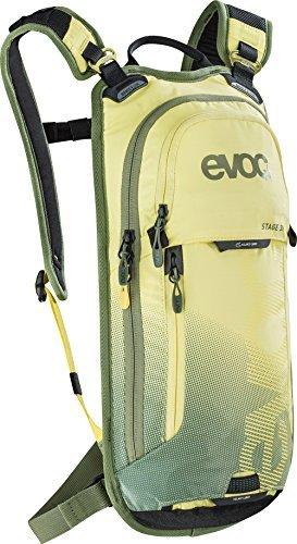 EVOC STAGE, Performance Rucksack, Gelb-light olive, 44 x 21 x 4 cm, 3 Liter