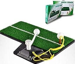 Golf Swing Trainer Mat Set for Beginners Indoor Practice