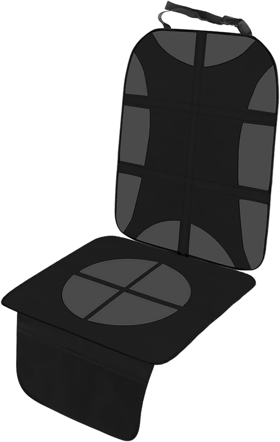 Punvot Protector Asiento Coche, Protector Coche Silla Bebe, Protector Asiento Coche Niños Funda Coche Silla Delantero Universal Coche Protector Asiento Trasero Coche para Asientos de Coche de Bebé