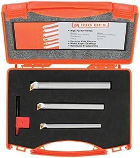 4.8 mm 0.300 Projection 7.6 mm 1-1//2 Micro 100 QMBB-090300 Quick Change Miniature Boring Tool Solid Carbide Tool 0.1875 0.090 Overall Length Minimum Bore Diameter 0.51 mm 0.020 Shank Diameter 38 mm Maximum Bore Depth 2.29 mm