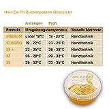Zuckerpaste 32 – Speziell für den Intimbereich und sehr hohe Umgebungstemperatur. Am besten für Anfänger geeignet. 400gr Sugaring SugarPaste - 2