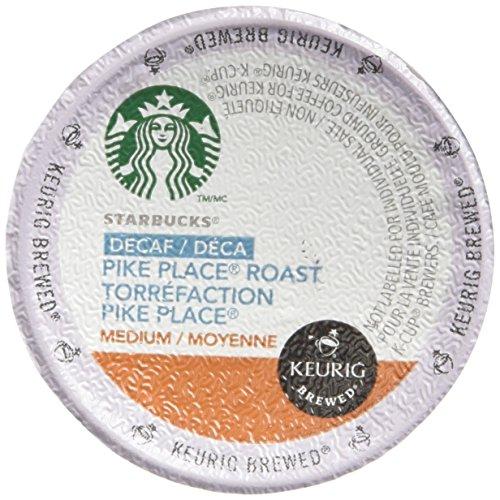 Starbucks Decaf Pike Place Roast 48 K-Cups
