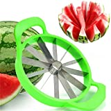 Watermelon Slicer Kitchen Gadgets Stainless Steel Fruit Cutter Melons Knife Fast Watermelon Slicer Cutting Tools