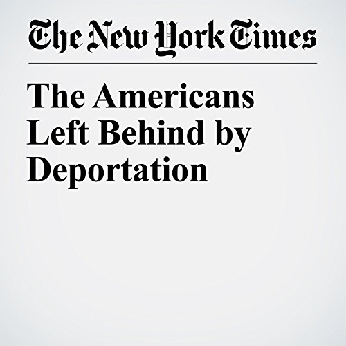 The Americans Left Behind by Deportation copertina