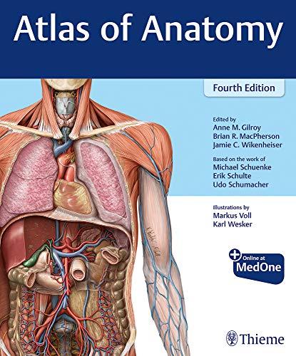 Compare Textbook Prices for Atlas of Anatomy 4 Edition ISBN 9781684202034 by Gilroy, Anne M,MacPherson, Brian R,Wikenheiser, Jamie,Schuenke, Michael,Schulte, Erik,Schumacher, Udo