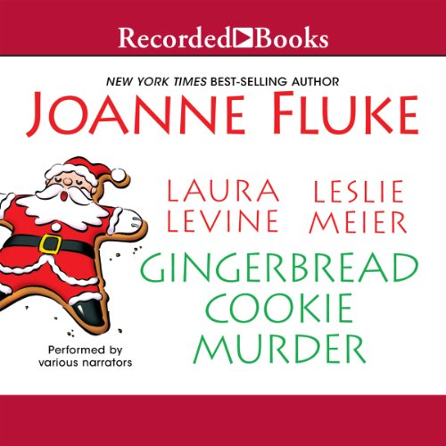 Gingerbread Cookie Murder audiobook cover art