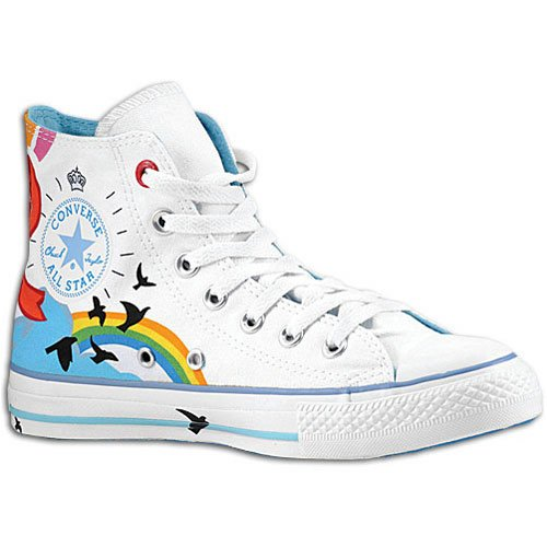 Converse Men's Chuck Taylor Green Africa (Red) Hi White 106102 12 ...