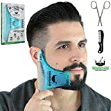 BEARDCLASS Beard Shaping Tool - 8 in 1 Comb Multi-liner Beard Shaper...