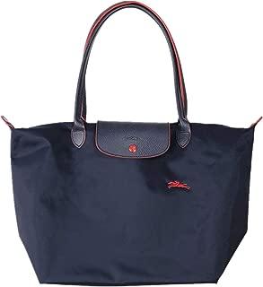 Long handle Large Shoulder Tote Bag Nylon Le Pliage Handbags Folding Shopping Beach Travel Commuter Bag