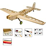 Viloga Balsa Wood Airplane Kits T10 3D RC Plane Kit, 31' Wingspan Laser Cut Fly Aircraft Model Building Kits Unassembled, DIY 4CH Electric RC Airplane Kit for Adults (KIT+Motor+ESC+Servo+Covering)