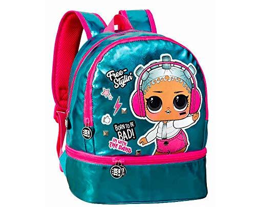 L O L Surprise! Backpack, Girls Backpack, Children's School Bag, Kids Luggage Girls Travel Bag, Nursery Bag, Soft Faux Leather Design, Gift for Girls!