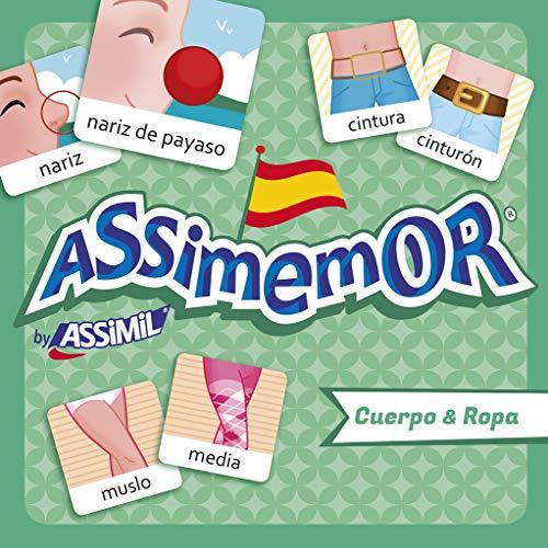 ASSiMEMOR Cuerpo & Ropa (Körper & Kleidung): Das kinderleichte Spanisch-Gedächtnisspiel von ASSiMiL