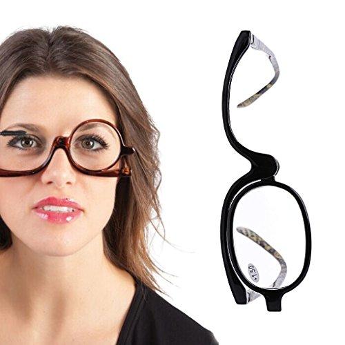 Cold Toy VergrößErungs Make-Up Lesebrille Brille Flip Up Linse Links Und Rechts … (+3.00)