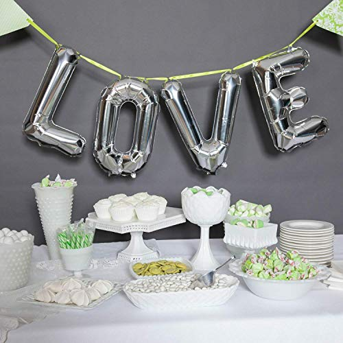 Learn More About 16″ Love Balloon Kit, Silver Silver