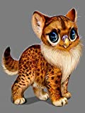 5D hecho a mano pintura de diamantes de imitación bordado animal gato animal perro punto de cruz mosaico rhinestone kit hecho a mano A10 45x60cm