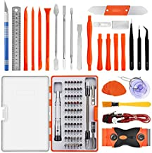 GANGZHIBAO Precision Screwdriver Set with Magnetic Driver Kit,96 in 1 Electronics Repair Tool Kit with Portable Bag for Repair iPhone, iPad, Tablet, PC, MacBook,Game Console,Cellphone and More