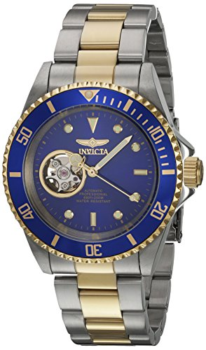 Invicta 21719 Pro Diver Unisex Uhr Edelstahl Automatik blauen Zifferblat