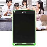 NoNo Zeichenbrett Desktop Chuyi 8,5-Zoll-LCD Writing Tablet Elektronische Graphic Board E Writer Paperless Digitale Zeichnung Editor for Home Office, Schreiben, Zeichnen (Schwarz) (Color : Green) -