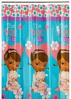 Jay Franco & Sons Inc. Disney Junior Doc McStuffins Shower Curtain 100% Peva