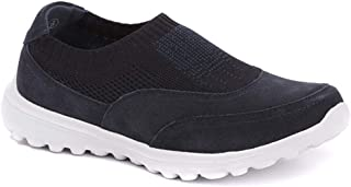 Pavers Womens Slip On Trainers Elastic Stretch Memory Foam Casual Shoes