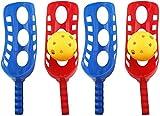 WENTS Scoop Ball Fangspiel Fangballspiel mit Bälle Fang Ball Spiel Ballspiel Wurfspiel Kindergeburtstag Mitbringsel für Kinder Junge Outdoor Garten Rasen Party Spielzeug 2 Sätze