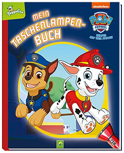 Paw Patrol - Mein Taschenlampenbuch: Mit Folienseiten und wiederverstaubare Taschenlampe