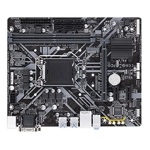 WERTYU Fit for Gigabyte GA-B360M D2V Original Nueva Placa Base B360 Socket LGA 1151 DDR4 USB3.0 SATA3.0 Soporte CPU G4900 I3 8100 I5 8400