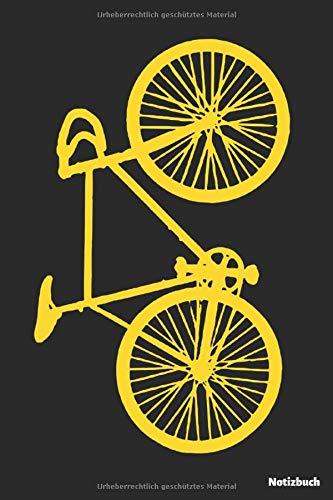 Notizbuch: Fahrrad gelb (liniert | 100 Seiten)
