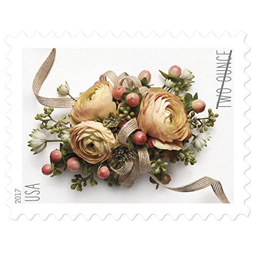 US Postal Service Celebration Corsage - 200 Two-Ounce Stamps (10 Sheets of 20)